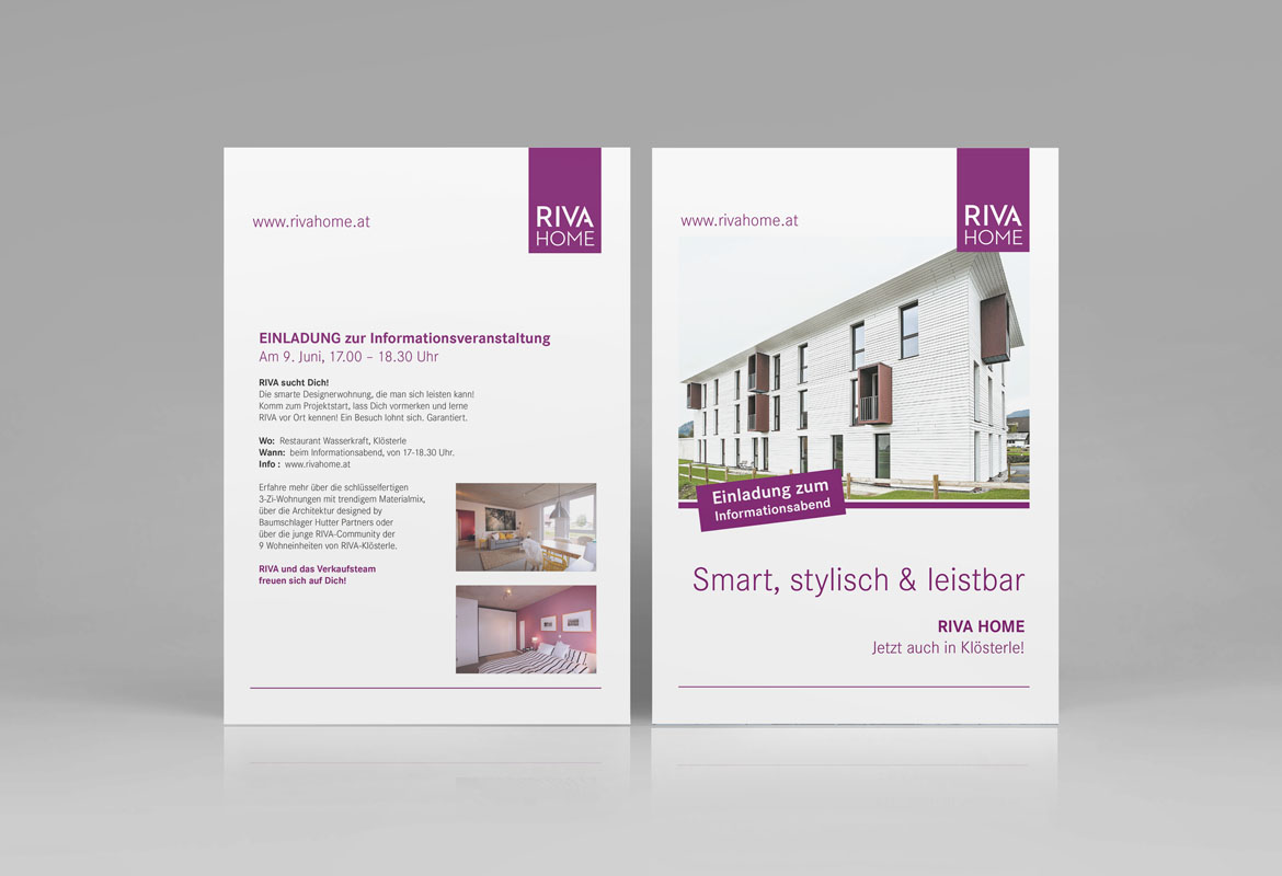 Riva Home Flyer
